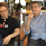 Lars Lehmann and Jon Liebman, in Germany